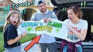 WE TOLD HER THE TRUTH ABOUT THE SLIME TRUCK!! SeLLING SLIMe at SCHOoL!!
