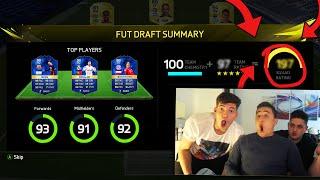 197 FUT DRAFT CHALLENGE!!! - FIFA 16 FUT DRAFT