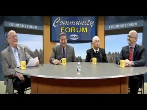 Communtiy Forum Debate - Town Moderator Candidates (2017)