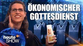 Die Kirche wird zum Geschäft .... Birte Schneider klärt auf | heute-show vom 26.05.2017