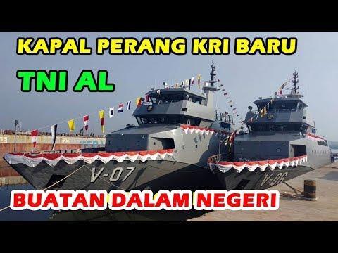 WOW KEREN, TNI AL LUNCURKAN 3 UNIT KAPAL PERANG BARU INDONESIA DI BATAM