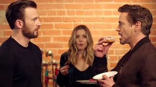 CAPTAIN AMERICA: CIVIL WAR Spot - Tony Steals The Last Donut (2016) Marvel Movie HD