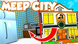 BUY A BIG HOUSE AND KITCHEN! -Roblox Meep City English