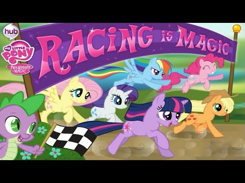 My Little Pony Friendship is Magic Racing is Magic Video Game for Children