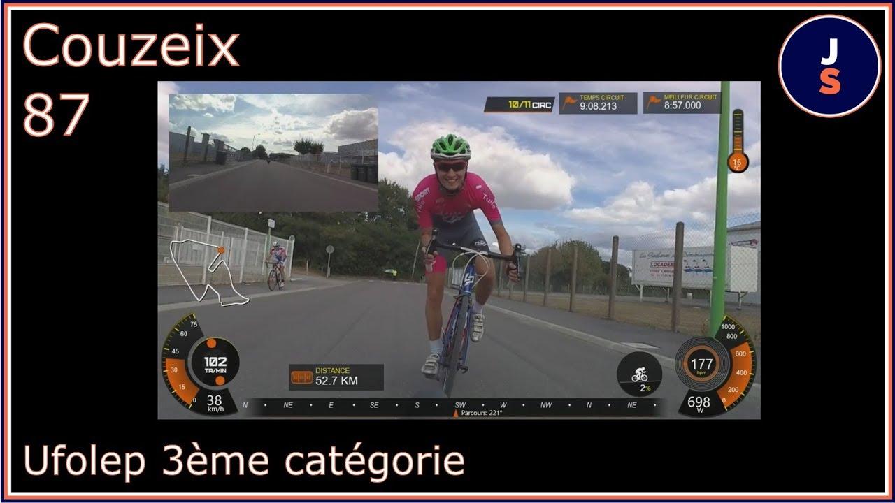 Course cycliste Tr'Océalim Couzeix Ufolep 3ème catégorie 08/09/2019