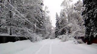 Снегопад в Москве, Подмосковье завалило снегом по полной программе!
