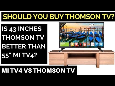 MUST WATCH: Is Thomson TV worth buying? Mi TV4 Vs Thomson TV : A Review