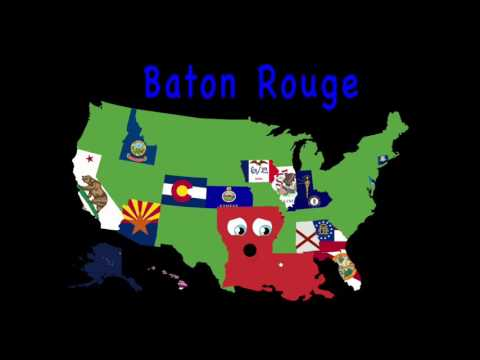50 States Song for Kids 50 States and Capitals for Children USA 50 States