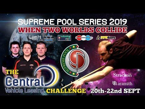 J Burnett vs S Chipperfield - The Supreme Pool Series - Central Vehicle Leasing - T4