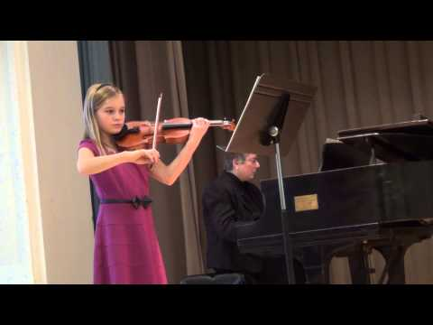 Angelina Phillips - Dvorak - Settlement Music School