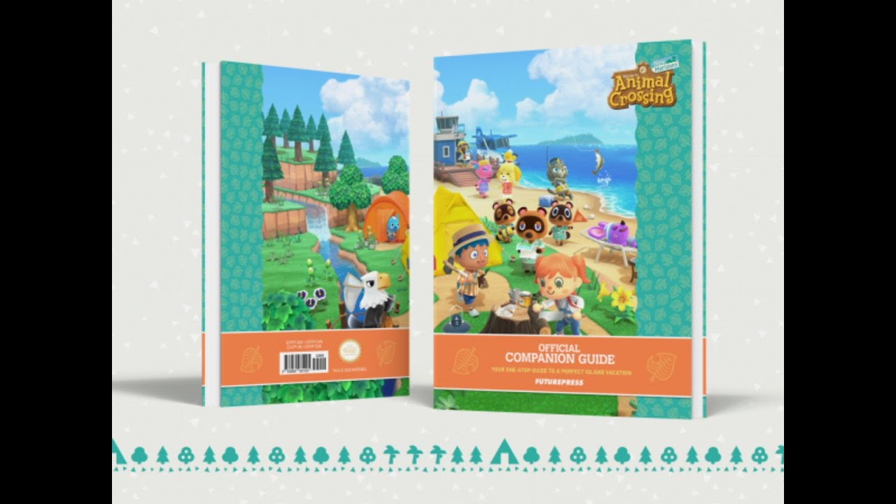 Look What I Have !! Animal crossing new horizons Guide Book!