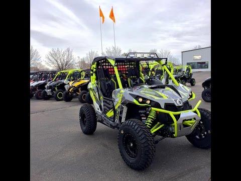 Custom All-terrain Moto Built Can-am Maverick XDS Turbo!