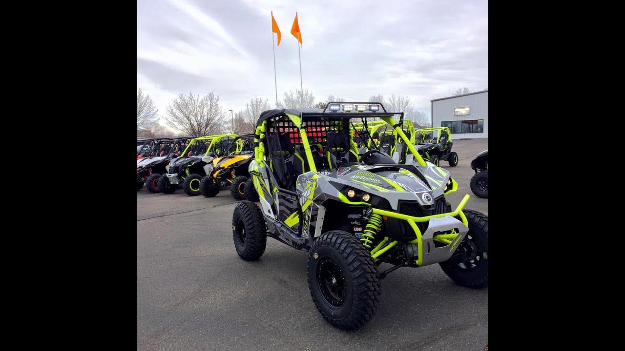 2015 Can Am >> Custom All-terrain Moto built Can-am Maverick XDS Turbo ...