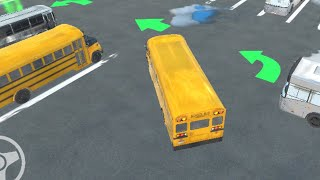 Bus Master Parking 3D // Gameplay