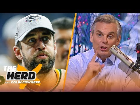 Colin Cowherd: 'Green Bay and Aaron Rodgers is getting uncomfortable' | NFL | THE HERD