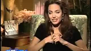Angelina Jolie Interview on Mr & Mrs Smith