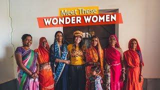INDIAN WONDER WOMEN !!   Me to We Day 3