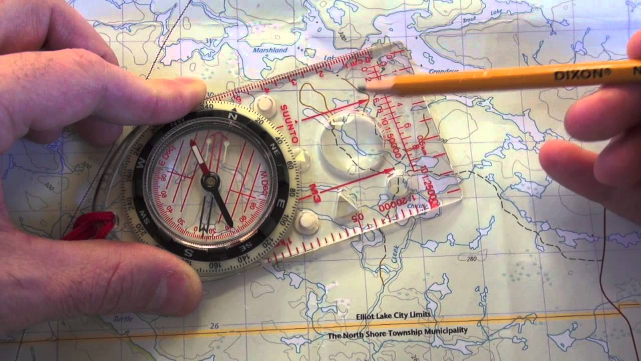 Map and Compass Navigation Part 1   YouTube Map and Compass Navigation Part 1
