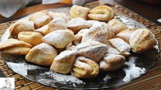 Печенье из творога фото.Творожные уголки
