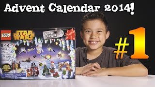 2014 LEGO STAR WARS Advent Calendar DAY 1 - Set 75056 + Question of the Day!