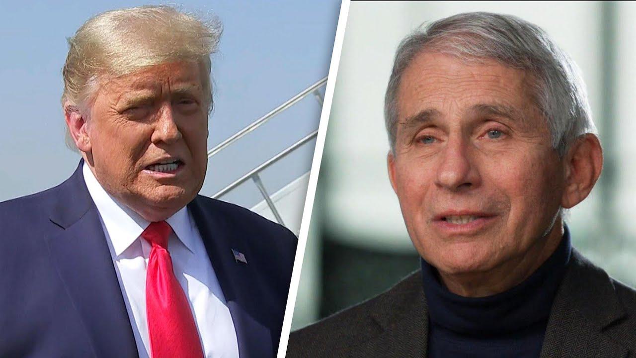 President Trump Calls Dr. Fauci and Disease Experts 'Idiots'