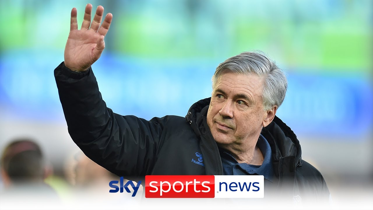Real Madrid appoints Carlo Ancelotti as coach after Everton ...