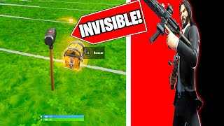 JOHN WICK SKIN gives you HACKS at FORTNITE 🚫😱