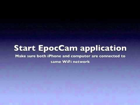 EpocCam Support