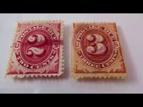 Video of 1916-1932 U.S. Postage Due Stamps