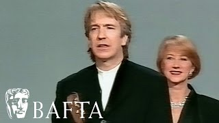 Alan Rickman Wins Supporting Actor for Robin Hood Prince of Thieves in 1992
