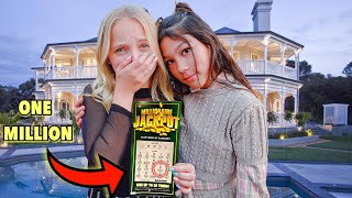 FAKE LOTTERY TICKET PRANK ON LILLY KETCHMAN !!! (BEST REACTION EVER) | Txunamy
