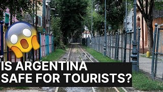 Is Argentina SAFE for TOURISTS? (Watch before you Go!)