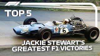 Top 5 | Jackie Stewart's Greatest F1 Victories