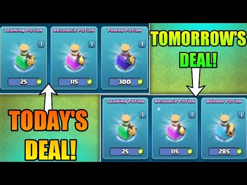 HOW TO KNOW TRADER'S (TOMORROW) NEXT DAY DEAL IN CLASH OF CLANS | TRADER DEAL CYCLE