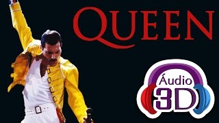 Queen - We Will Rock You - AUDIO 3D (TOTAL IMMERSION)