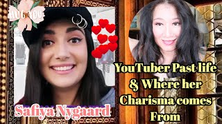 SAFIYA NYGAARD (YouTuber) Past life & Where her Charisma Comes from? | Time Travel by Sapphire