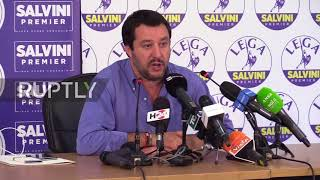 Italy: league's salvini defends closing ports to migrants