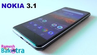 Nokia 3 1 Unboxing and Full Review