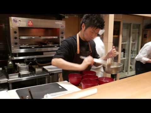 Kaiseki at Michelin star Jimbocho Den in Tokyo