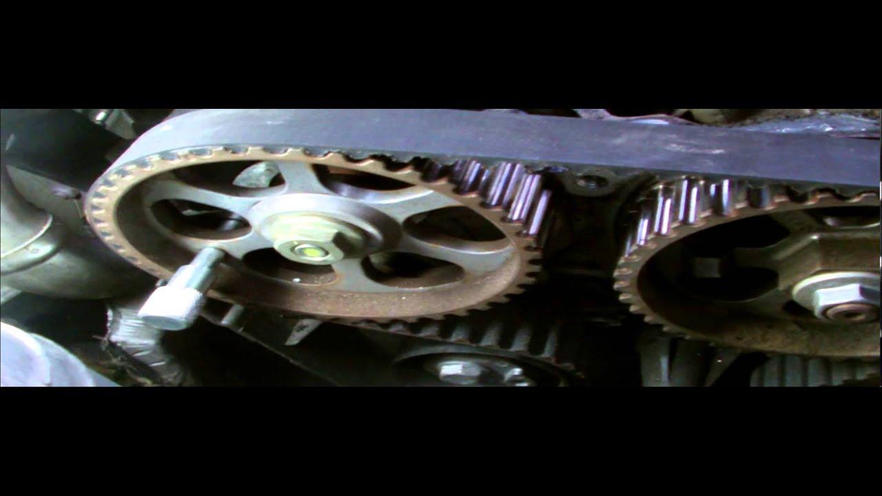 renault nissan1 5dci timing belt service youtube logan timing #2