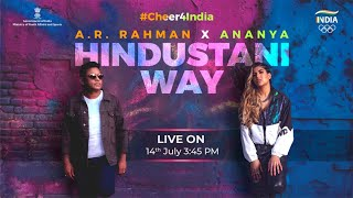 Launch of The Official Team India Cheer Song for Tokyo 2020