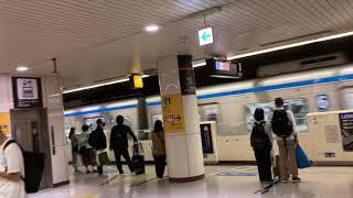 福岡市営地下鉄博多駅、福岡空港駅行の発着