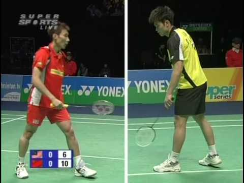 Lin Dan vs Lee Chong Wei AE 09 MS Final (2/5)