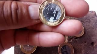 Essa você não sabia moeda R$1