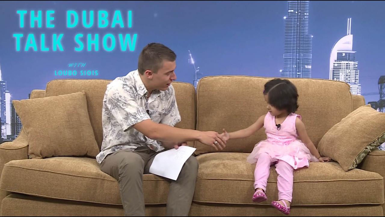Kids Interviews with Loubo - The Dubai Talk Show - YouTube