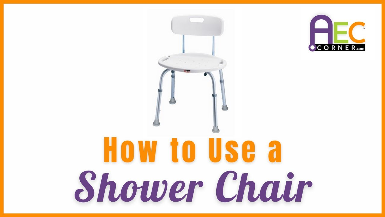 The Best Way to use a Bathtub Chair - YouTube