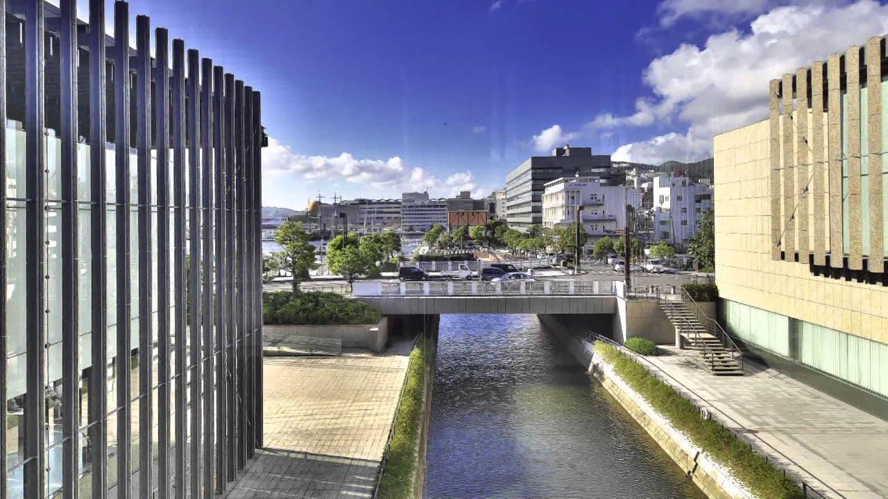 一生に一度は行きたい日本の名建築 長崎美術館 長崎県 - YouTube