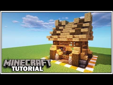 Minecraft 8x8 Horse Stable Tutorial [How to Build] thumbnail