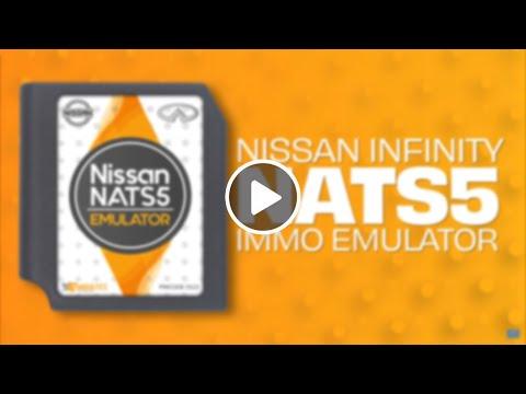 Nissan Infiniti NATS5 IMMO Emulator