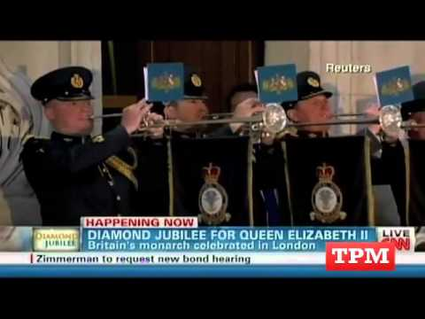 American Cable News Gets Giddy For The Queen